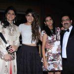Kumar Birla With His Daughters
