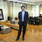 Kumar Mangalam Birla In His Office