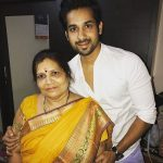 Kunal Verma with his mother