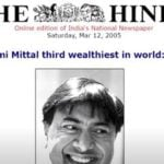 Lakshmi Mittal As The Third Richest Man