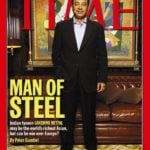 Lakshmi Mittal On Time's Magazine