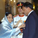 Lakshmi Mittal Receiving Padma Vibhushan Award
