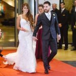 Lionel Messi With His Wife