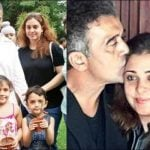 Lucky Ali with his second wife Anahita