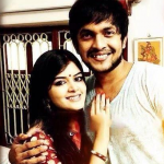 Madhumita Sarkar with Sourav Chakraborty
