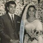 Mala Sinha with Husband