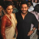 Mimi Chakraborty with Raj Chakraborty