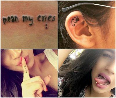 Naina Singh's Tattoos