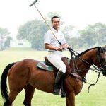Naveen Jindal Playing Polo