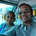 Naveen Jindal with his Mother