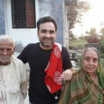 Pankaj Tripathi With His Father and Mother