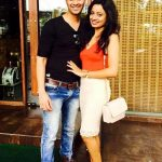 Priya Shinde with her husband Sachin