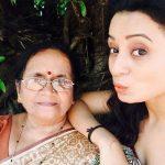 Priya Shinde with her mother Shobha Shinde