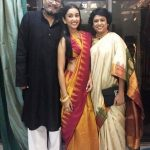 Priyamvada Kant with her parents