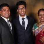 Punam Raut family