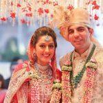 Radha Kapoor With Her Husband