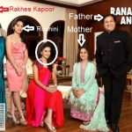 Radha Kapoor With Her Parents and Sisters
