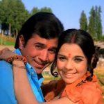 Rajesh Khanna with Mumtaj