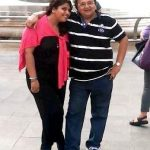 Rakesh Bedi with his daughter Ritika Bedi