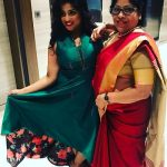 Rj Malishka with her mother