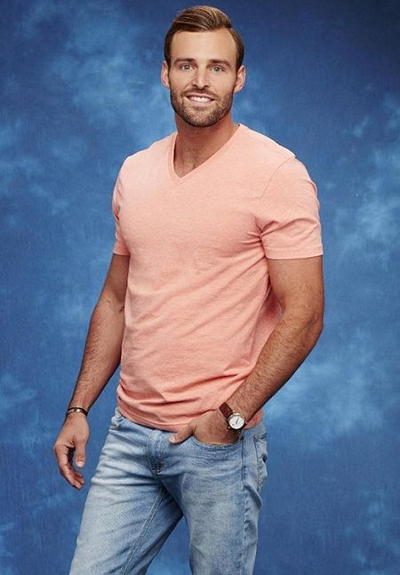 Robby Hayes from Bachelor in Paradise