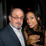 Salman Rushdie reportedly dated Rosario Dawson