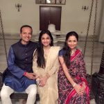 Shallu Jindal With Her Husband and Daughter