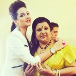 Subhashree Ganguly mother
