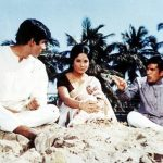 Sumita Sanyal with Rajesh Khanna and Amitabh Bachchan in Anand