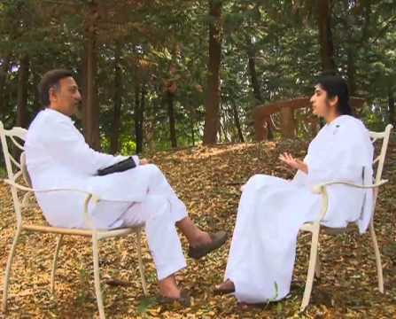 Suresh Oberoi In A Session With Brahma Kumari