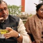 Sushil Kumar Modi With His Wife
