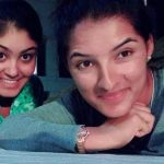 Sushma Verma with her sister