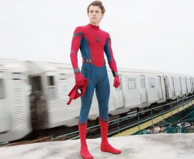 Tom Holland in Spider-Man Homecoming