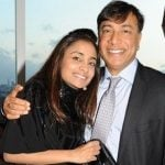 Lakshmi Mittal With His Daughter Vanisha Mittal