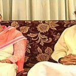 Venkaiah Naidu with his daughter