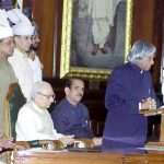 APJ Abdul Kalam Taking Oath As The President of India