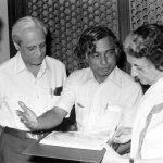 Abdul Kalam With Indira Gandhi