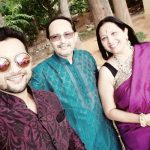 Abhishek Sharma with his parents