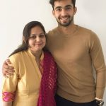 Abhishek Verma with his mother Veena Verma