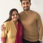 Abhishek Verma with his mother Veena Verma