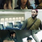 Abrar Zahoor as terrorist in Neerja