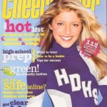 Alexa Bliss cheerleader magazine cover