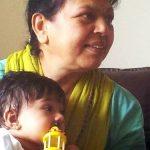 Ali Hassan mother Shahina Turabi and daughter Inaaya