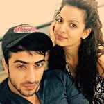 Aly Goni with his girlfriend Natasa