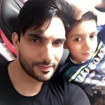 Amal Sehrawat with his son Krishay