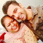 Anuj Sachdeva with his mother