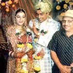 Anuj Saxena with his Ex-wife Ishmit Dhadial