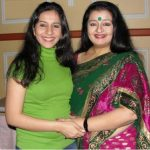 Apara Mehta with Daughter Khushali