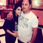 Bhumika Gurung with her father