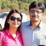 CBI Judge with his wife